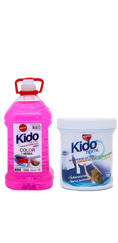 Detergente y blanqueador